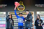 Nairo Quintana (COL) Movistar Team wins Stage 4 and takes over the race leaders Maglia Azzura of the 2017 Tirreno Adriatico running 187km from Montalto di Castro to Terminillo, Italy. 11th March 2017.<br /> Picture: La Presse/Fabio Ferrari  | Cyclefile<br /> <br /> <br /> All photos usage must carry mandatory copyright credit (&copy; Cyclefile | La Presse)