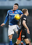 St Johnstone v Kilmarnock...07.11.15  SPFL  McDiarmid Park, Perth<br /> Michael O'Halloran and Steven Smith<br /> Picture by Graeme Hart.<br /> Copyright Perthshire Picture Agency<br /> Tel: 01738 623350  Mobile: 07990 594431