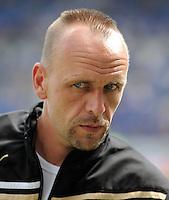 FUSSBALL   1. BUNDESLIGA  SAISON 2011/2012   2. Spieltag   13.08.2011 TSG 1899 Hoffenheim - Borussia Dortmund  Trainer Holger Stanislawski (TSG 1899 Hoffenheim)