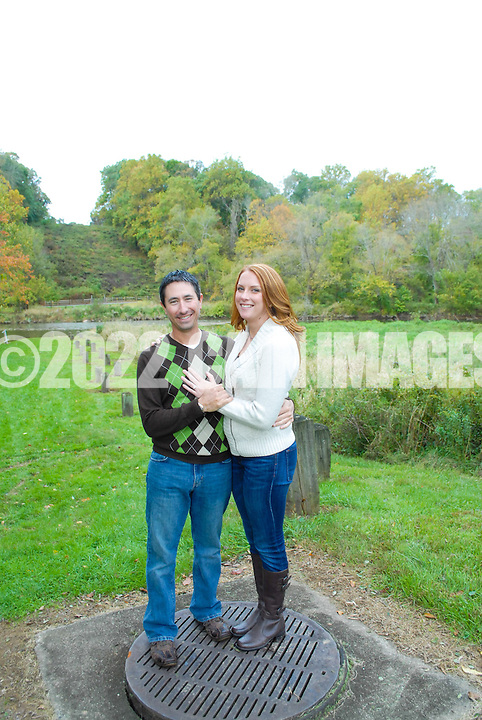10/14/12 9:58:14 AM - Newtown, PA.. -- Amanda & Elliot October 14, 2012 in Newtown, Pennsylvania. -- (Photo by William Thomas Cain/Cain Images)