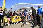 Magnus Cort Nielsen (DEN) Orica-Scott at sign on for the 115th edition of the Paris-Roubaix 2017 race running 257km Compiegne to Roubaix, France. 9th April 2017.<br /> Picture: Eoin Clarke | Cyclefile<br /> <br /> <br /> All photos usage must carry mandatory copyright credit (&copy; Cyclefile | Eoin Clarke)