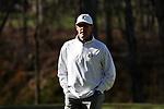 KANNAPOLIS, NC - APRIL 09: Charlotte head coach Ryan Cabbage. The third round of the Irish Creek Intercollegiate Men's Golf Tournament was held on April 9, 2017, at the The Club at Irish Creek in Kannapolis, NC.