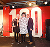 Mayor reveals Amy Lame as UK's first ever Night Czar <br /> <br /> Sadia Khan, the mayor of London has announced that the Night Czar <br /> at the 100 Club, London, Great Britain <br /> 4th November 2016 <br /> <br /> Amy Lame <br /> Night Czar <br /> <br /> Justine Simons <br /> Deputy Mayor Culture <br /> <br /> Jeff Horton <br /> 100 Club Owner <br /> <br /> Photograph by Elliott Franks <br /> Image licensed to Elliott Franks Photography Services