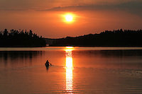 &quot;Paddling into the Sunset&quot;<br />