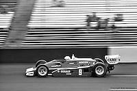 HAMPTON, GA - APRIL 22: Rick Mears drives his Penske/Cosworth TC during the Gould Twin Dixie 125 event on April 22, 1979, at Atlanta International Raceway near Hampton, Georgia.