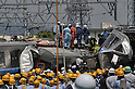File: 10th Anniversary of Japan's Amagasaki Train Crash