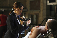 Fringe (2008-2013)<br /> (Season 2, Episode 1, &quot;A New Day in the Old Town&quot;)<br /> Meghan Markle<br /> *Filmstill - Editorial Use Only*<br /> CAP/KFS<br /> Image supplied by Capital Pictures