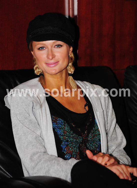 **ALL ROUND PICTURES FROM SOLARPIX.COM**.**WORLDWIDE SYNDICATION RIGHTS**.Paris Hilton waits to clear Immigration as she arrives in the VIP area of Dubai International Airport to film her new reality show Paris Hilton's Dubai BFF...This pic:Paris Hilton..JOB REF:9253       DBL     DATE:16.06.09.**MUST CREDIT SOLARPIX.COM OR DOUBLE FEE WILL BE CHARGED**.**ONLINE USAGE FEE GBP 50.00 PER PICTURE - NOTIFICATION OF USAGE TO PHOTO @ SOLARPIX.COM**.**CALL SOLARPIX : +34 952 811 768 or LOW RATE FROM UK 0844 617 7637**