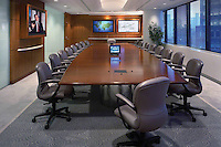 Conference Room With Tabletop Power