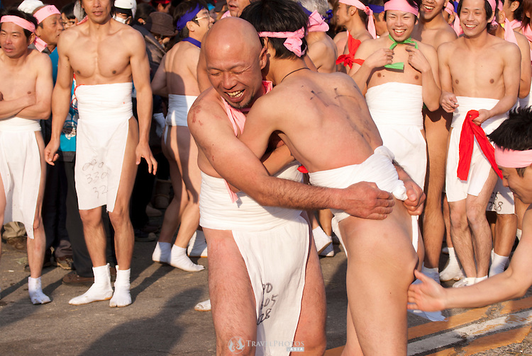 The Naked Man Festival Hadaka Matsuri Is An Annual Event That Began