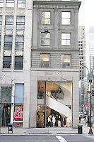 View of Blanc de Chine NYC store, located at 673 Fifth Avenue, just before their Fall/Winter 2011 &quot;The Five Elements&quot; collection runway show, during New York Fashion Week Fall 2011.