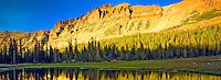 Mount Hayden and Small Tarn, High Uintas Wilderness, Utah