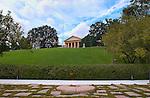 Arlington House, Robert E. Lee Memorial, John F. Kennedy Eternal Flame, Arlington National Cemetery, Arlington, Virginia