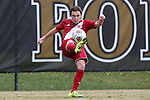 29 November 2015: Indiana's Andrew Gutman. The Wake Forest University Demon Deacons hosted the Indiana University Hoosiers at Spry Stadium in Winston-Salem, North Carolina in a 2015 NCAA Division I Men's Soccer Tournament Third Round match. Wake Forest won the game 1-0.