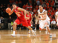 Greivis Vasquez scored 23 points, and No. 22 Maryland made the most of a late technical foul on Virginia coach Tony Bennett to withstand a spirited comeback in a 74-68 victory over the Cavaliers on Saturday March 6, 2010 in Charlottesville, Va. (Photo/Andrew Shurtleff)