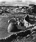 Peasant houses Connemara 1940s