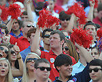 Ole Miss fans at Vaught-Hemingway Stadium in Oxford, Miss. on Saturday, September 10, 2011. Ole Miss won 42-24.