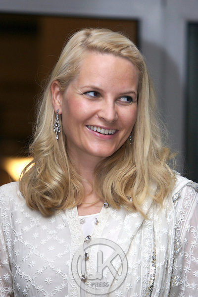 Crown Prince Haakon & Crown Princess Mette-Marit of Norway visit India. Concert & Dinner at the Residence of the Norwegian Ambassador in New Delhi.