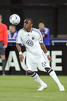 Rodney Wallace..Kansas City Wizards and DC United played to a 1-1 draw at Community America Ballpark, Kansas City, Kansas.