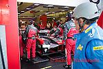 Lucas Di Grassi (BRA) / Loic Duval (FRA) / Oliver Jarvis (GBR) driving the LMP1 Audi Sport Team Joest Audi R18 Hybrid 24hr Le Mans 18th June 2016