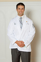 Adam Burgess. White Coat Ceremony, class of 2016.