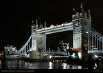 Tower Bridge, Bascule and Suspension Bridge, f/8, River Thames, London, England, UK