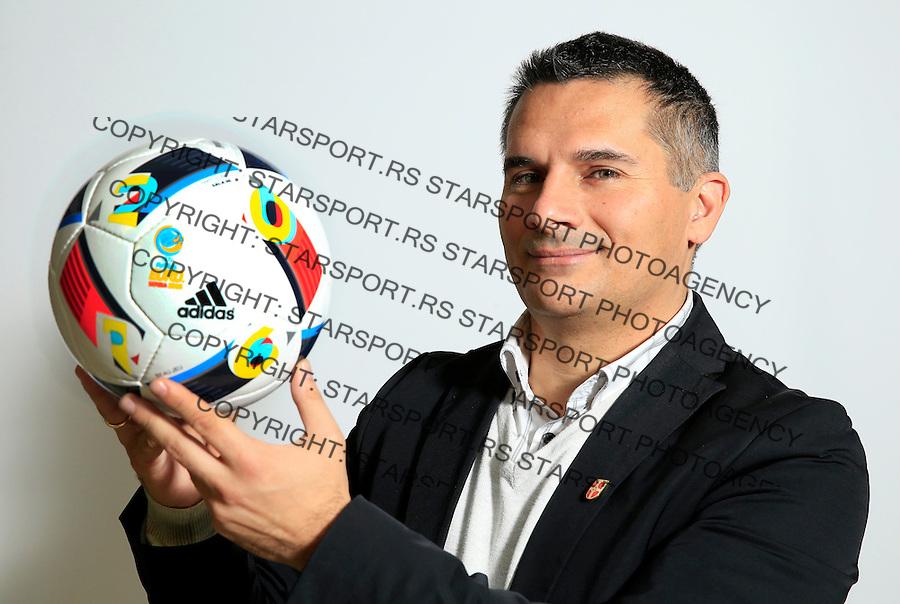 Futsal<br /> Portreti igraca Futsal nacionalne selekcije Srbije <br /> Igor Gacic<br /> Stara Pazova, 26.11.2015.<br /> foto: Srdjan Stevanovic/Starsportphoto &copy;