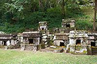 Quiahuiztlan Totonaca tombs, Mexico