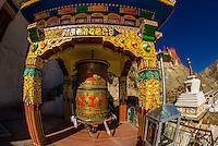 India-Ladakh-Spituk Monastery