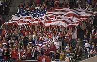 USA Fans, USA vs Sweden, at the Home Depot Center, in Carson, Calif., Sat., January, 19, 2008.