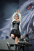 JUN 13 Within Temptation performing at Download Festival