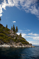 """Lake Tahoe 8"" - This scene was photographed on the West Shore of Lake Tahoe."