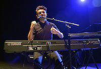 MIAMI BEACH, FL - OCTOBER 28: Nathan Sykes  performs on stage during the Know-It-All Tour Part II at Fillmore Miami Beach on October 28, 2016 in Miami Beach, Florida. Credit: MPI10 / MediaPunch