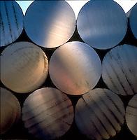 titanium billets. Albany Oregon United States titanium plant.