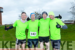 participants who took part in the Kerry's Eye Valentines Weekend 10 mile road race on Sunday were Chris Grayson, Mike Kissan,  Fozzy Forristal and Tom Groke