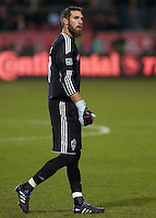 COlorado Keeper Matt Kippens duirng the 2010 MLS Cup. The Colorado Rapids defeated FC Dallas 2-1 in overtime to earn their first league title.