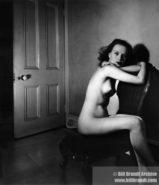Nude 'Reflection' 1940s