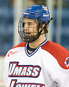 Patrick Cey (Lowell - 19) - The visiting University of New Hampshire Wildcats defeated the University of Massachusetts-Lowell River Hawks 3-0 on Thursday, December 2, 2010, at Tsongas Arena in Lowell, Massachusetts.