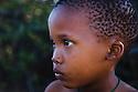 Botswana, Kalahari, bushman (san) child, portrait