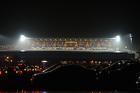 2005/06 Powergen Cup, London Wasps vs Cardiff Blues, 'Causeway Stadium after the game taken from the car park'.   Causeway Stadium, Wycome, ENGLAND, 07.10.2005   © Peter Spurrier/Intersport Images - email images@intersport-images..   [Mandatory Credit, Peter Spurier/ Intersport Images].   [Mandatory Credit, Peter Spurier/ Intersport Images].