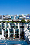 Les Halles Paris France in May 2008