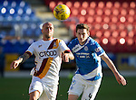 St Johnstone v Bradford City&hellip;19.07.16  McDiarmid Park, Perth. Pre-season Friendly<br />Nicky Law and Blair Alston<br />Picture by Graeme Hart.<br />Copyright Perthshire Picture Agency<br />Tel: 01738 623350  Mobile: 07990 594431