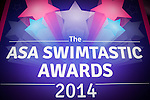 ASA Swimtastic Awards - 18 Oct 2014