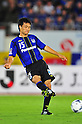 Yasuyuki Konno (Gamba),.AUGUST 4, 2012 - Football / Soccer :.2012 J.League Division 1 match between Gamba Osaka 3-1 Omiya Ardija at Expo '70 Stadium in Osaka, Japan. (Photo by AFLO)