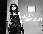 Alice Cooper 1979 on Midnight Special.© Chris Walter.