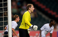 Brad Guzan. The USMNT tied the Ivory Coast, 0-0, while playing in the ING Cup at Hong Kong Stadium.