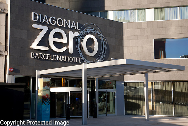 Diagonal Zero Hotel in the Maresme Forum District of Barcelona, Catalonia, Spain