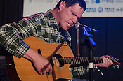 Damien Jurado played a set at the Berkeley Café during Hopscotch Music Festival in Raleigh, North Carolina on September 7, 2012.