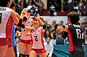 Hitomi Nakamichi (JPN),.NOVEMBER 17,2011 - Volleyball : FIVB Women's Volleyball World Cup 2011,4th Round Tokyo(A) during match between Japan 3-2 Germany at 1st Yoyogi Gymnasium, Tokyo, Japan. (Photo by Jun Tsukida/AFLO SPORT) [0003].