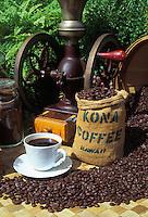 Kona coffee, one of the Big Island's most popular exports